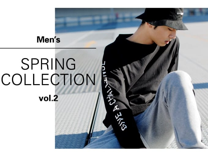 MENS SPRING COLLECTION Vol.02